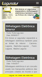 Mobile Preview of lagunatur.com.br